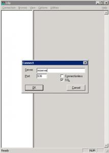 Probar la conexión con ldp